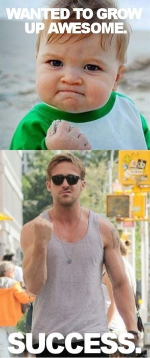 Haha! Priceless: Ryan Gosling, Baby Meme, Epic Win, Funny Humor, Growing Up, Funny Stuff, Nails It, So Funny, True Stories