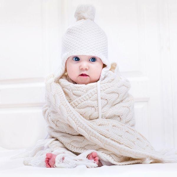 manta de croche para bebe
