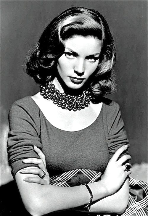 I think your whole life shows in your face and you should be proud of that - Lauren Bacall