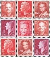 dronningmargrethe70aar - Enigma - Museum for post, tele og kommunikation    oversigt over alle frimærker