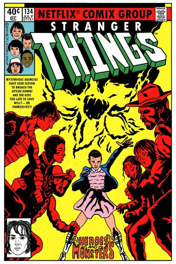 If Stranger Things was a comic