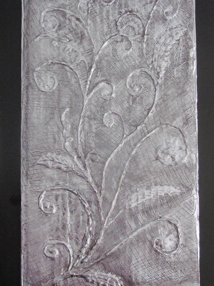 Aluminium Foil and Glue Art