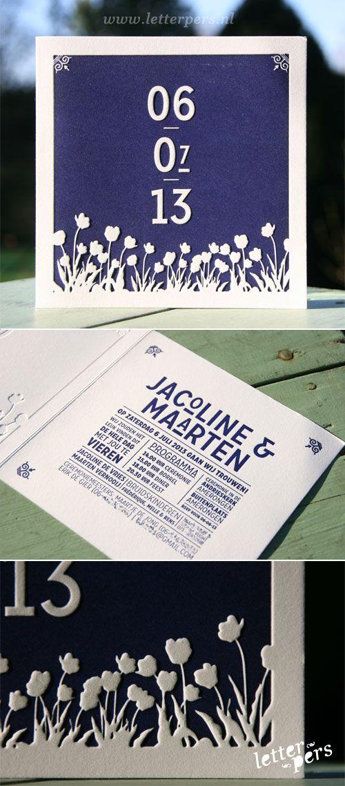 letterpers_letterpress_trouwkaart_jacoline-en-maarten_paars_zomers_typografisch_preeg