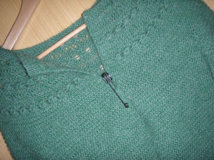 LULU fra Lene Holme Samsøe strikket i lamauld fra strikkebogen