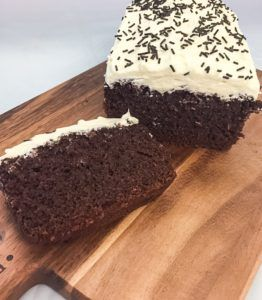 Chcolate guinness loaf cake - a recipe from Kelly Lou Cakes