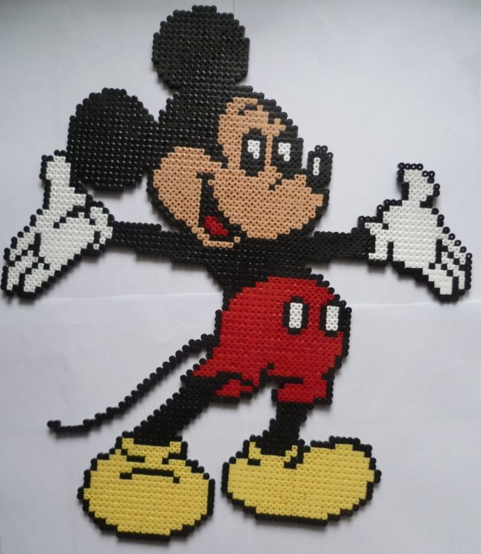 Mickey Mouse hama beads by creationperles