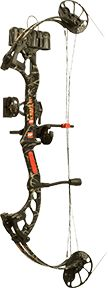 """PRECISION SHOOTING EQUIP 16 Fever RTS Package Skull Work Camo RH 25"""""""" 40#, EA"""