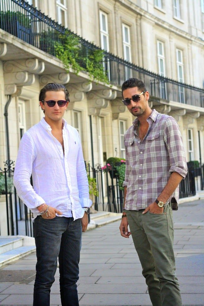 Stalked: Hugo Taylor and Charlie Morris. Founders, Taylor Morris Eyewear