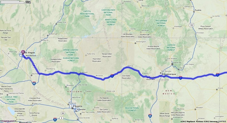 Driving directions from 3660 boulder hwy las vegas