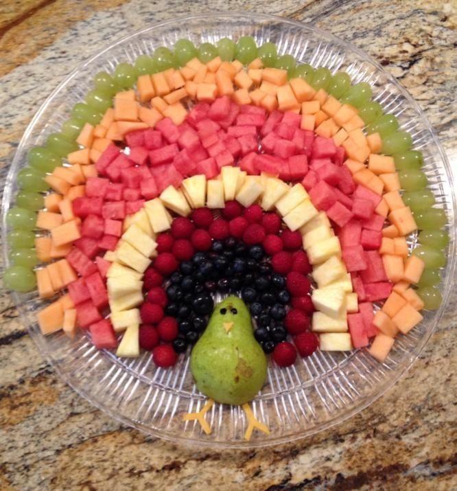 43309199 Madeheart Gt Turkey Fruit Platter On Pinterest