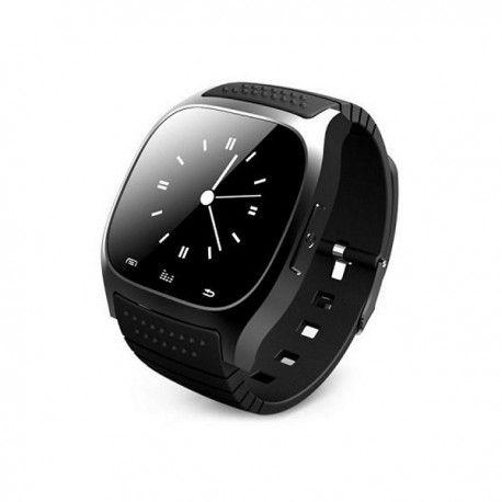 Rwatch M26 Smart Watch Bluetooth Smart Watch, geschikt voor Android smart phones, handsfree bellen en gebeld worden (bluetooth), hoogtemeter, calorieën teller, sporthorloge, agenda, wekker, stopwatch, opladen via usb kabel. In zwart of wit leverbaar. Zeer stijlvolle Smart watch!