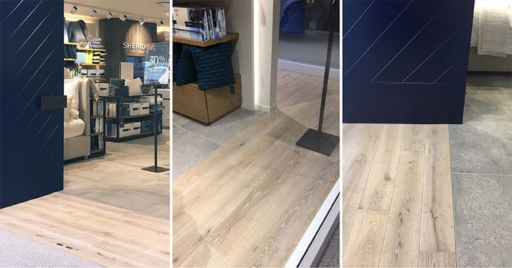 One of the many great benefits of timber is that it can be effectively used as a stand-alone feature, or mixed with other finishes to create dramatically contrasting or subtle complimentary accents throughout a space. Sheridan at Warringah Mall used Havwoods Oak Jubilee engineered timber to create a beautiful border around the store space.