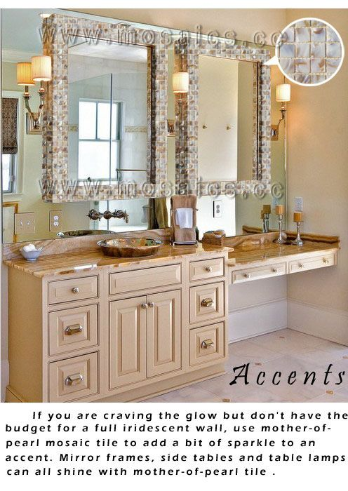 Contemporary Art Websites Mother Pearl Mosaic sea shell Off White Kitchen Backsplash Bathroom http