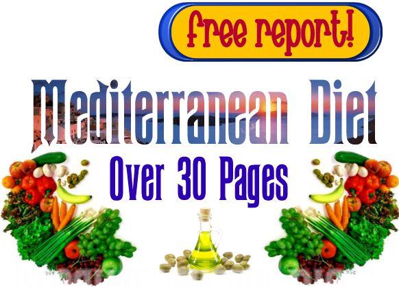 mediterranean diet food list - free report