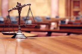 stock photo of symbols - Symbol of law and justice, law and justice concept, scales of justice. ** Note: Slight graininess, best at smaller sizes - JPG