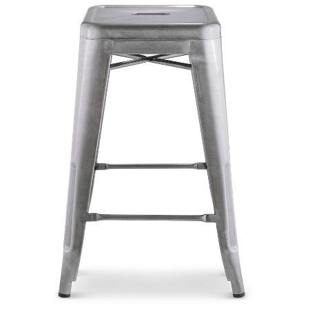 "Carlisle 24"" Counter Stool 1 Pack - Natural Metal : Target"