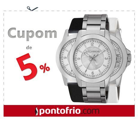 Aproveite para conferir as opções de relógios analógicos e digitais, para homens ou mulheres.
