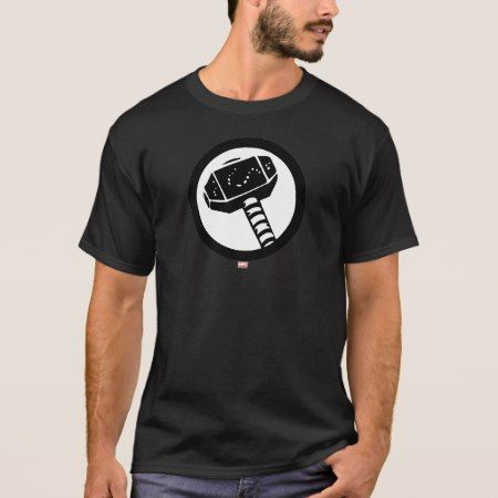Thor Retro Hammer Icon T-Shirt - tap to personalize and get yours