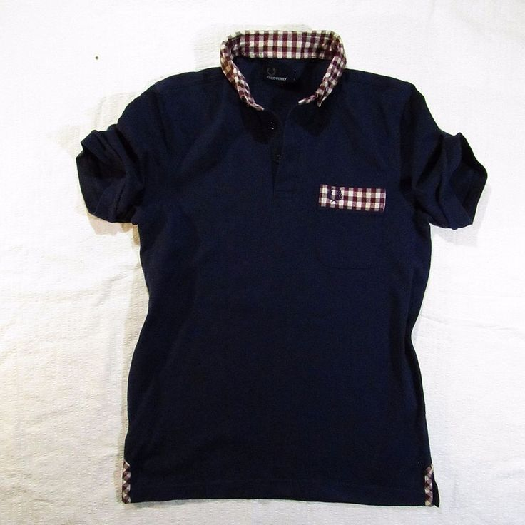 Autentic t-shirt  Fred Perry  with the pocket Size L #FredPerry #BasicTee