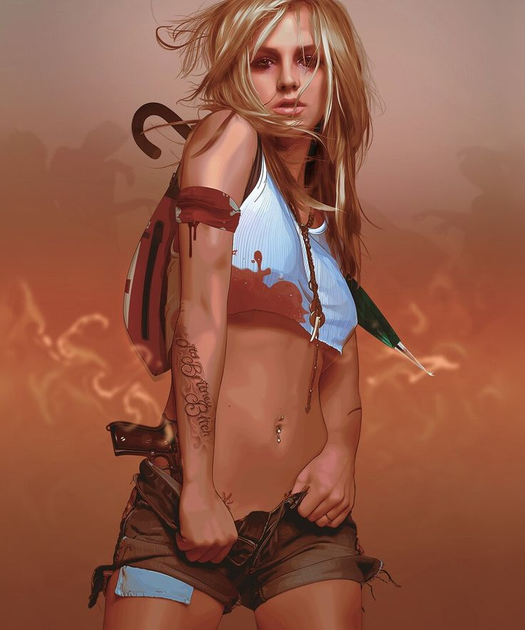 digital art Britney Spears