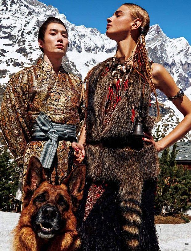 Анна Селезнева в Vogue Japan (Интернет-журнал ETODAY)