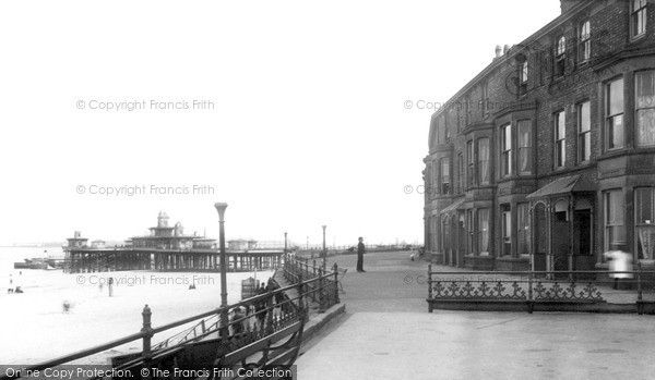 New Brighton, Pier and Parade 1892