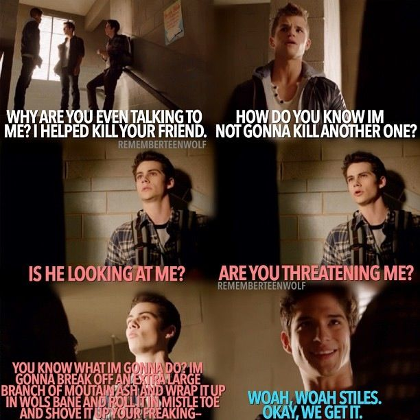 "Teen Wolf Season 3 Episode 9 ""The Girl Who Knew To Much"" Scott McCall , Ethan , And Stiles Stilinski"
