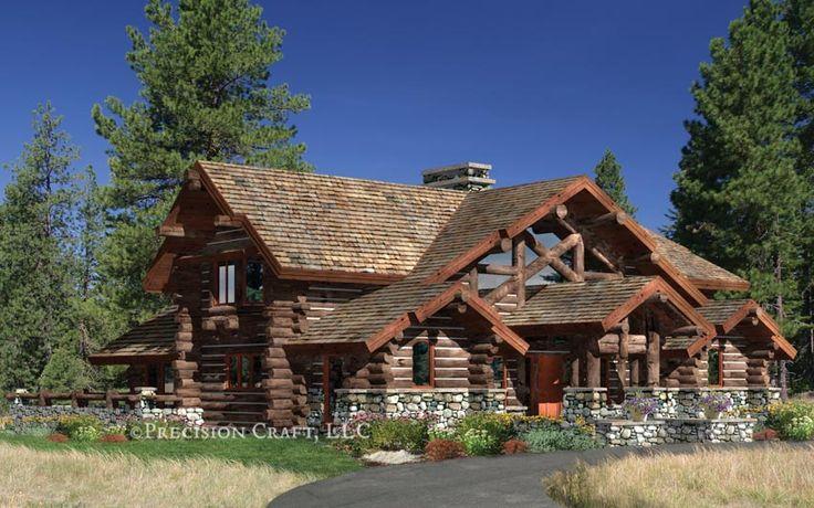 13 Best Log Home Floor Plans Images On Pinterest Log