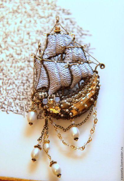Парусное судно ,,Жемчужина,,. Svetlana Masson & KLORIS