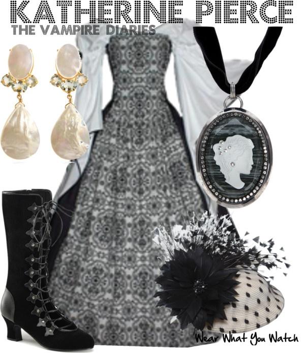 Inspired by Nina Dobrev as Katherine Pierce from The Vampire Diaries.