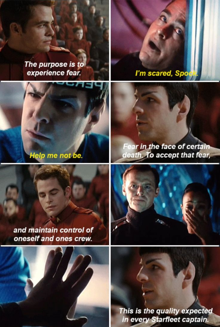 Star Trek (reboot) & Into Darkness--wow these go along too well
