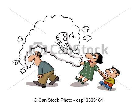 Fumadores pasivos los de la cola