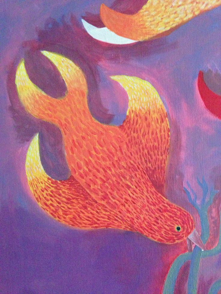 Fire Bird by L. Arjona