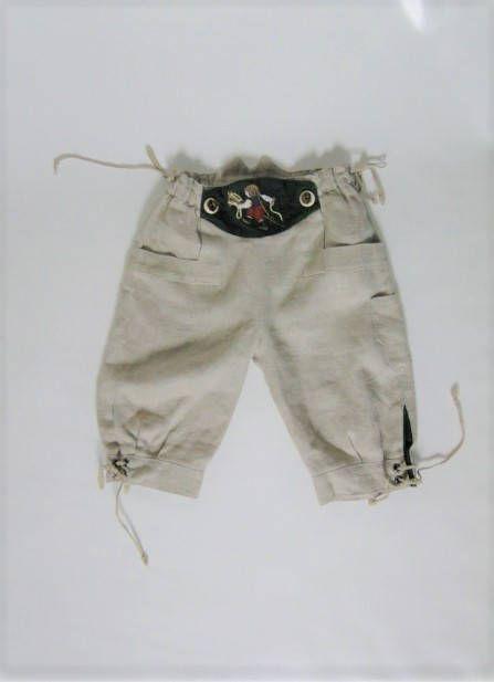 Austrian linen pants/ Kids clothing / Vintage Clothing// Vintage Austrian Pants/ Folklore Style/ 92 cmm/Boys pants / linen/ Boys clothing by VintBlueBird on Etsy
