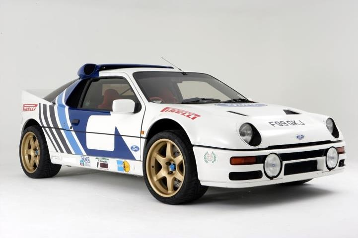Ford RS200 Group B rally car Mid-engined all-wheel-drive awesomeness