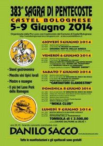 383° Sagra di Pentecoste a Castel Bolognese http://www.sagreromagnole.it/?p=4029