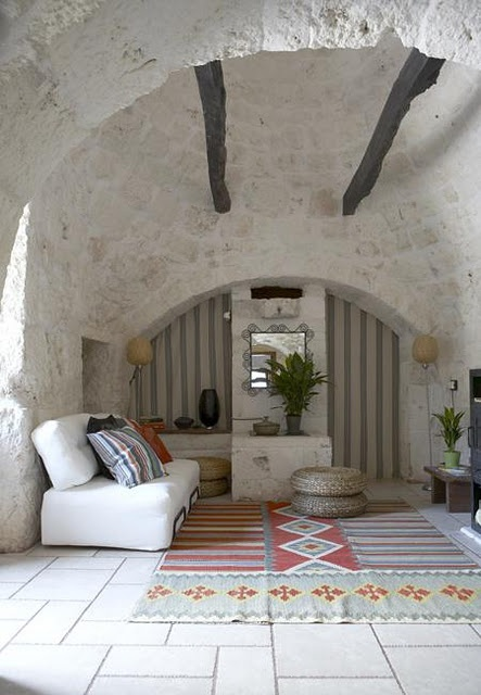 Go and visit a Trullo in South Italy; you'll love it!