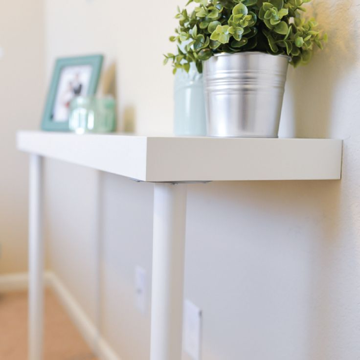 ikea hack console table - Console Table Ikea