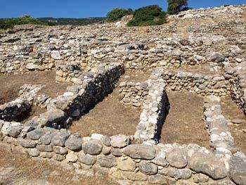 Gournia - An ancient town dating back over 3,500 years, excavated and restored to show visitors how common people lived in ancient Greece.