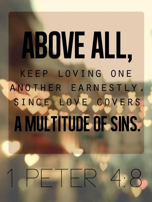 1 Peter 4:8 Keep loving one another  | https://www.facebook.com/AuthenticChristianLiving  #Bible #Verse