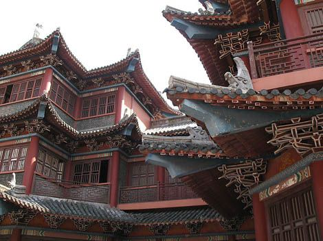 The Mythic Elements in Chinese Architecture - Chinese Architecture