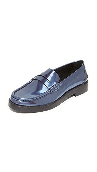 Get this PEDRO GARCÍA's loafers now! Click for more details. Worldwide shipping. Pedro Garcia Queron Loafers: Metallic patent leather adds a bold touch to these menswear-inspired Pedro Garcia loafers. A notched strap and piping accent the vamp. Stacked heel and leather sole. Leather: Cowhide. Made in Spain. This item cannot be gift-boxed. Measurements Heel: 1in / 25mm (mocasines, mocasín, slip-on, loafer, slip-ons, loafers, moccasins, slip on, mokassins, mocasines, mocassins, mocassini…