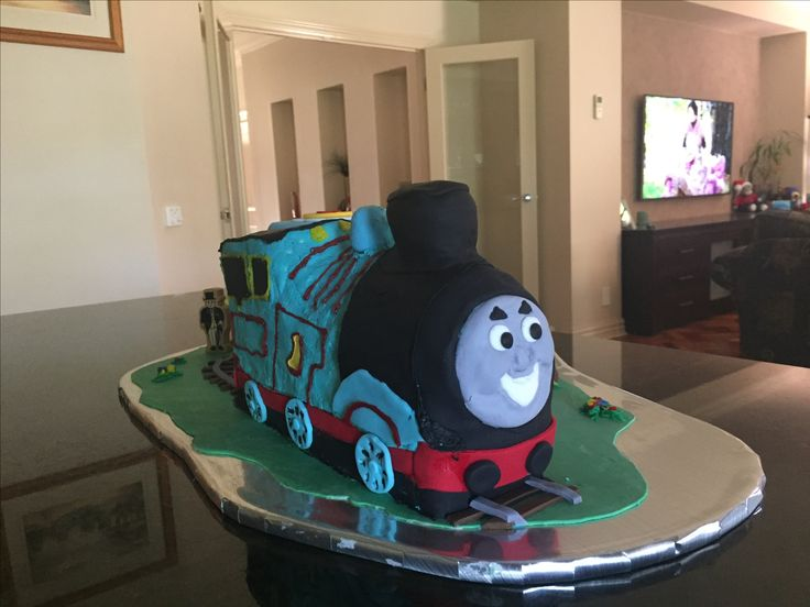 Thomas on a hot day!