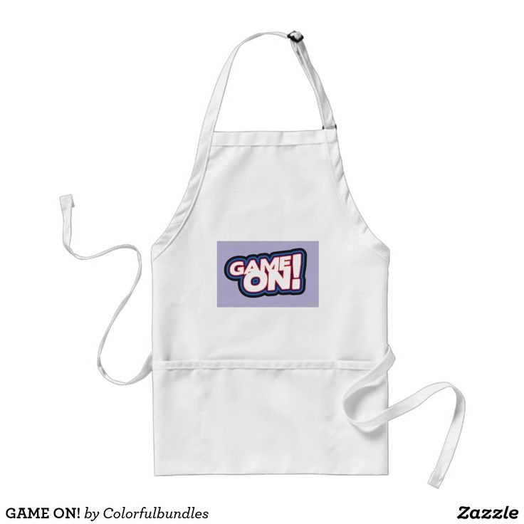 GAME ON! STANDARD APRON
