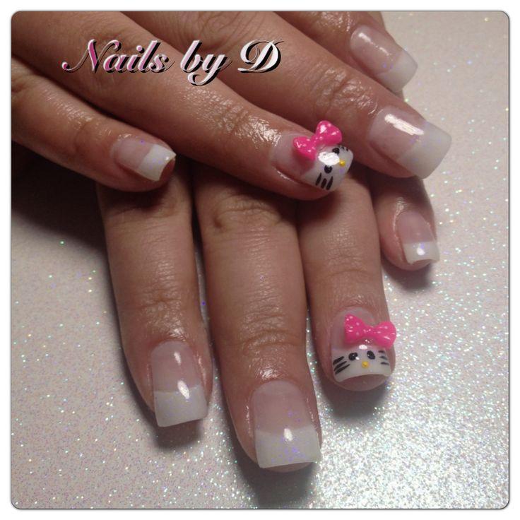 Nails!! Hello kitty