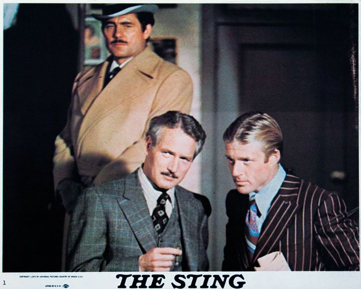 Image result for the sting movie poster 1973