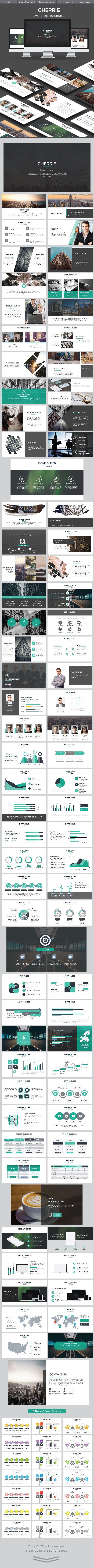 Cherrie Powerpoint (PowerPoint Templates)