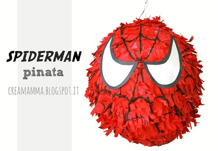 Pignatta di Spiderman - tutorial