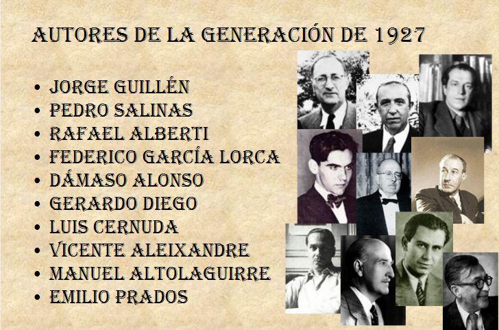 Estos son los poetas que pertenecieron a este selecto grupo.