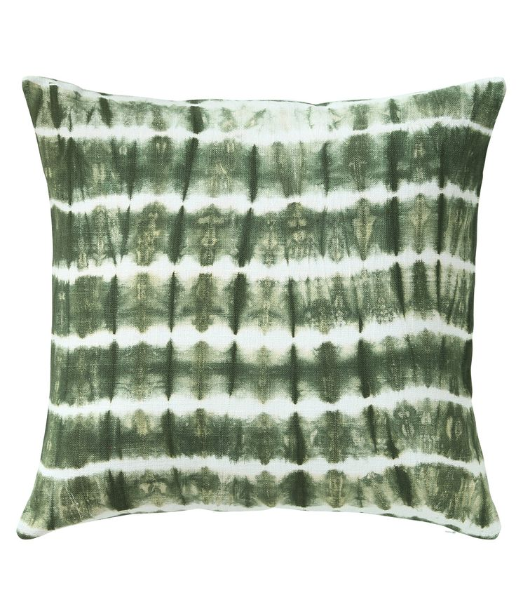 Cotton slub fabric is tie-dyed to create beautiful colour variations in fatigue across the lines. The unevenness of slub adds to the texture. www.theindianpick.com